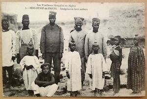 Postcard Senegalese skirmishers in Algeria, shooters, snipers, African soldiers