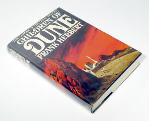 Children of Dune — Frank Herbert — 1976 Hardcover HCDJ