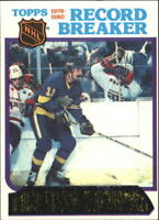 1980-81 Topps Hockey Base Singles (Pick Your Cards)