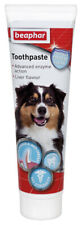 BEAPHAR Dog TOOTHPASTE 100g Puppy Cat Liver Flavour Enzymatic Dental Teeth Care