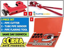Tubería de freno métrica para ensanchar Kit Conjunto de Herramientas de Reparación de combustible Con tubo Bender + Cortador y