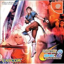 Sega Dreamcast DC Japan CAPCOM VS. SNK2 MILLIONAIRE FIGHTING 2001