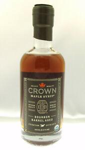 Crown Maple Syrup ~ Boubon Barrel Aged ~ Artisan Quality ~ 8.5oz Bottle