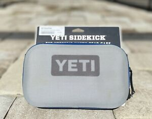 New! YETI Sidekick Gear Case   Fog Gray  ***minor discolorations****see pictures