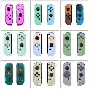Joycon Shell Buttons Replacement Housing for Nintendo Switch - Multiple Designs