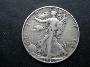 HALF DOLLAR AÑO 1946 - USA  MEDIO DOLAR DE PLATA