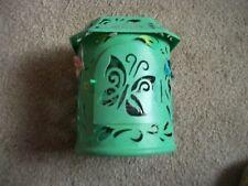 Butterfly Garden Tin Lantern