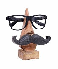 Eyeglass Holder With an Amusing Mustache. NEW (PACK OF 4)