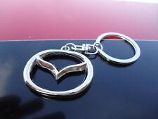 MAZDA   3 D  Emblem Logo Keychain (Metal Alloy Keyring, key chain, ) USA Seller