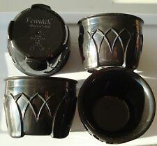 4 NEW Carlisle Dinex Insulated Bowl, 5 oz., Urethane Foam Onyx PK 4, DX520003