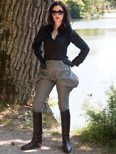 Lederhose Leder Hose Breeches Stahlgrau Maßanfertigung