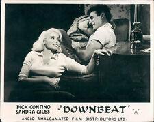 DOWNBEAT DADDY-O ORIGINAL LOBBY CARD DICK CONTINO SANDRA GILES