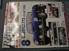 Retro Passion n°117 Ferrari 250 GT 1962 Ford Mustang 289 Jaguar XJS 1991