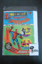 2.5 Gd+ Amazing Spider-Man # 8 Australian Euro Variant With Poster Cp Yop 1975