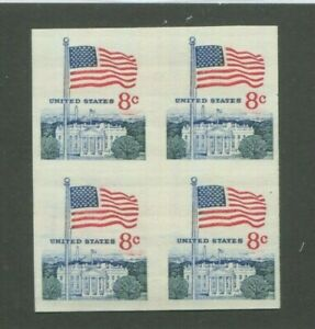 United States Postage Stamps #1338Fi MNH VF Imperf Block