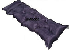 SELF-INFLATING CAMPING SLEEPING MAT FESTIVAL MATTRESS TRAVEL CAMP BED TENT BAG