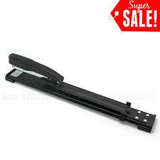 Heavy Duty Long Arm Metal Stapler 20 sheets Capacity Office Home GOOD QUALITY BK