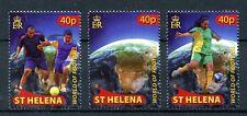 St Helena 2010 MNH World of Football 3v Set Soccer Sports Stamps