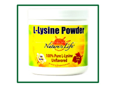 Nature's Life : L-Lysine Powder Unflavored -- 200 g .Exp Date:09/2020