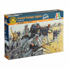 ITALERI 6054 FRENCH FOREIGN LEGION 50 Toy Soldier Figures 1/72 NEW MIB FREE SHIP