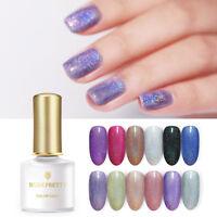 BORN PRETTY Holographicss UV Gel Polish Glitter Soak Off Nail Gel Varnish 6ml
