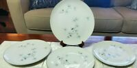 "4 Dinner Plates 10 1/2""   By Royal Song China in the Pollyanna Pine Pattern MINT"