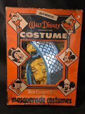 Rare Vintage Ben Cooper Disney Cinderella Costume with Box and Crown 1959