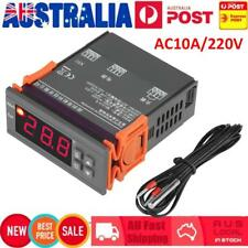 220-240V 10A Temperature Controller Control Temp Thermostat Switch w/ Sensor