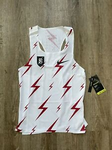 Nike Men's Aeroswift Bowerman Track Club Running Singlet Sz Medium CW1257-100
