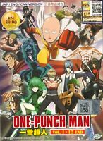 One Punch Man Season 1 Vol.1-12 End DVD  English Dubbed Ship From USA