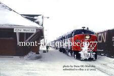 Canadian National Rwy  6771  Mont-Joli Quebec 1977