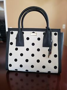 Kate Spade Blake Avenue Small Loden Nylon Satchel Diamond Dot WKRU3529
