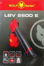 Wolf Garten Laubbläser Laubsauger LBV 2600 E Fangsack 2600W Laub Sauger Bläser