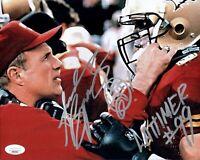 ANDREW BRYNIARSKI Signed Lattimer 8x10 THE PROGRAM Photo Autograph JSA COA Cert