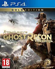 Ghost Recon Tom Clancy Sazh Gold Edition-Pal PS4 Juego Nuevo Sellado