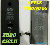 BATTERIA ZERO CICLI 1715Mah POLIMERI APPLE IPHONE 6S LITIO A1633 A1688 A1700 NK