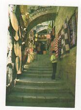 Jerusalem Old City Street Scene Postcard 615a