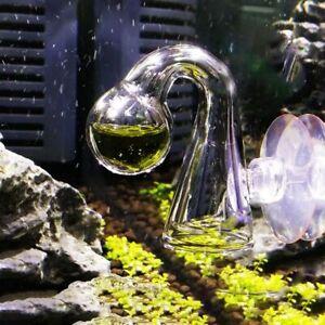 Fish Tank Water Live Moss Plant Aquarium Notes Glass CO2 Checker Carbon Dioxide