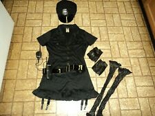 Dirty Cop Halloween Costume. Sz. Adult S/M  4-8.