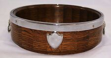 Vintage RYECRAFT WOODWARE Solid Oak Bowl.