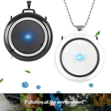 Wearable Necklace Air Purifier Mini Portable Negative Ion Generator Low Noise