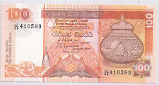 Sri Lanka Ceylon 100 rupees Banknote UNC 1992