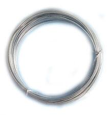 0.8mm conjunto de 3 duro de acero inoxidable Pulsera de alambre de arte Bucle Floristry vendedor del Reino Unido