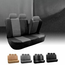PU Leather Rear Back Seat Covers Set Top Quality For SUV Car Minivan