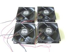 Computer Cooling Fans 12 VDC 120 mA 92mm. Case Fans lot of 4 used tested OK