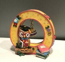 Mary Engelbreit 1999 Retired Stand up Alphabet Letter O ~ Owl, Ornament