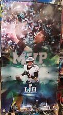 Philadelphia Eagles Nick Foles MVP Super Bowl Championship vinyl Banner 20 X 36