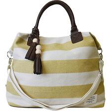 Sloane Ranger Varsity Gold Cabana Stripe Jet Setter Travel Bag (SALE!) So Chic!