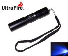 New Ultrafire C3 Blue LED Flashlight Torch ( AA, 2A )