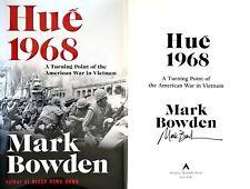 Mark Bowden~SIGNED IN PERSON~Hue 1968~1st/1st + Photos!! Vietnam War